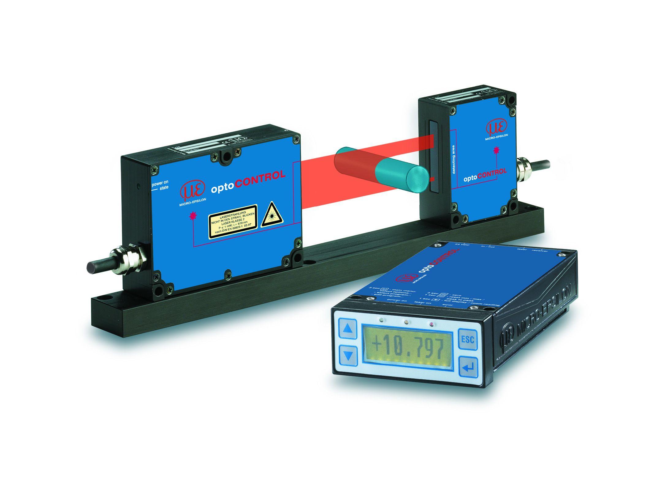 Optical micrometer optoCONTROL 2500 | WObit