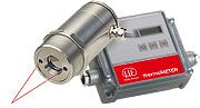 Czujniki temperatury z laserem